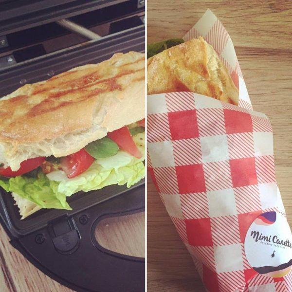 Mimi Canette livre ses sandwichs gourmands à Beaune
