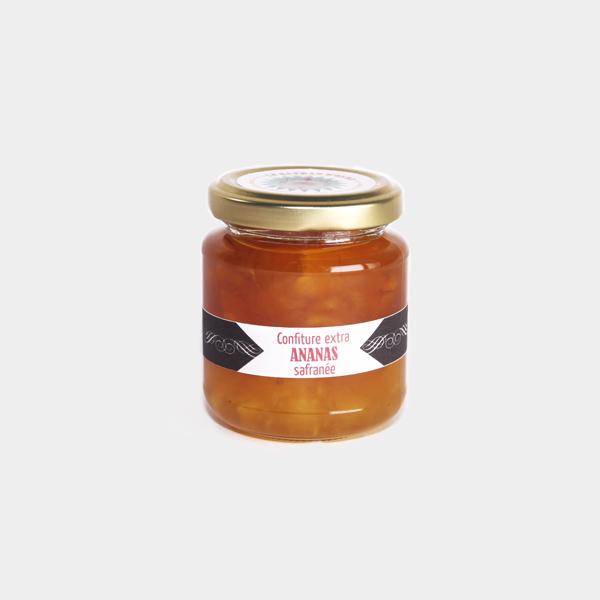 confiture-extra-ananas-safran-mimicanette
