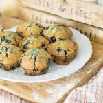 Bluerry muffins for breakfast catering in Beaune by Mimi Canette