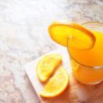 Jus d'orange pressé pour petit-déjeuner traiteur Mimi Canette